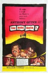 The Ride Back 1957 DVD - Anthony Quinn / William Conrad